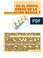 Perfil de Egreso Exposicion