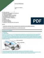Sistema de Suspensión en Los Vehículos