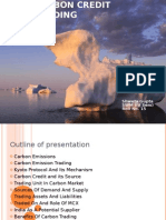 Carbon Credit Trading