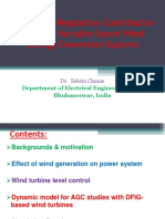 Frequency Regulation Contribution Through Variable-Speed Wind Energy Conversion Systems