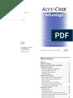 Accu Chek Advantage Users Manual