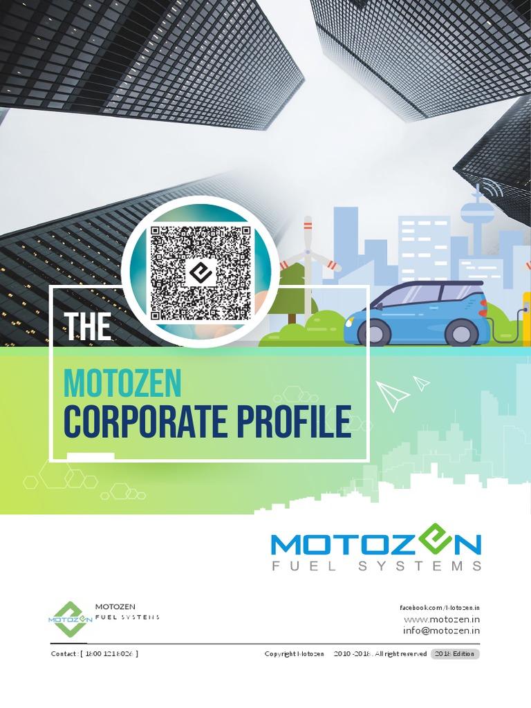 Moto Zen in Profile 9861112182 | Quality Management | Fuel