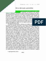 Etica San Agustin