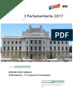 Felipe Carballo Actividad Parlamentaria 2017
