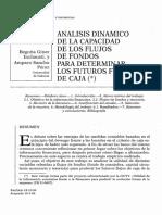 AnalisisDinamicoDeLaCapacidadDeLosFlujosDeFondos