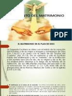 El Matrimonio en El Plan de Dios, La Celebracion Del Matrimonio