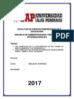 Facultad de Ciencias Empresariales y Educacion