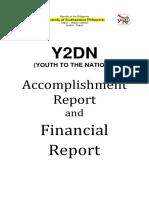 Y2DN Accomplishment Report 2nd Semester