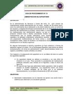 Adm. de Supositorio Guia 21