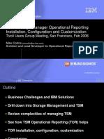 Tsm Operational Reporting 2006
