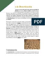 Definición de Contaminacion