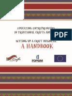 Educating Entrepreneurs Handbook