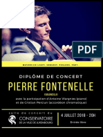 Diplôme de Concert Juillet