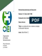 I.1. sesion introduccion.  LA CONDUCCIÓN DE UN SISTEMA EDUCATIVIO COMPLEJO.pdf