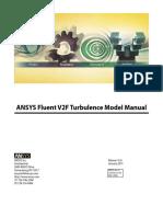 ANSYS Fluent V2F Turbulence Model Manual