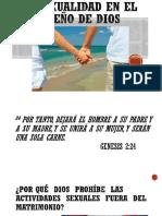 La Sexualidad en El Diseño de Dios