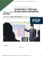 Negocios Internacionales_ 7 Datos Que Debes Saber de Esta Carrera Universitaria en Perú _ LaRepublica