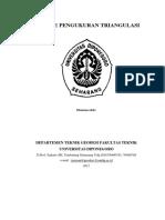 Metode Pengukuran Triangulasi Kel Zz b