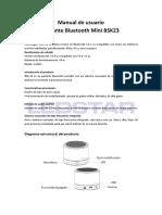 Manual Ledstar BSK23