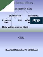 Curs 5- Traumatismele Craniocerebrale
