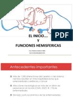 FUNCIONES HEMISFERICAS