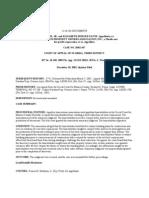 Payne v. Cudjoe Gardens Prop. Owners Ass'n, 837 So. 2d 458 (Fla. App. 3rd Dist. 2002)