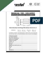 Manual Linea-1 02 Electrobomba Centrifuga Monoblock Serie b y c