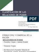 Clasificación de Las Relaciones de Poder