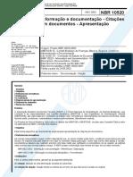 ABNT - Norma Brasileira_nbr10520.pdf