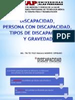 Clase 1 Discapacidad - Persona Con Discapacidad