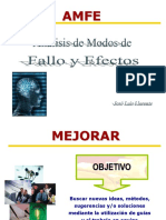 Analisis de modos fallos y efectos