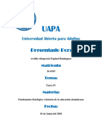 Tarea IV  Fundamento Filosofico UAPA