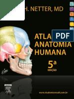Livro de Atlas de Anatomia Humana - Netter