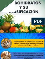 CARBOHIDRATOS CLASIFICACIÓN.pptx