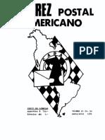 Ajedrez Postal Americano 50- 1978