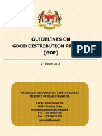 Guideline on Good Distribution Practice - 2nd Edition