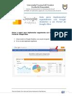 Pasos a Seguir Para Implementar Seguimiento Con Google Analytics a Un Portal de Google Sites