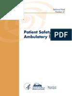 Ambulatory Safety Technical Brief