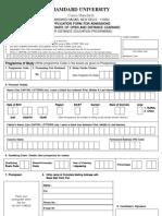 Application Form DODL