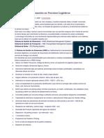 Sistemas de Información en Procesos Logísticos