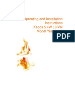 Xeoos Operation Manual 5kw 8kw 2008