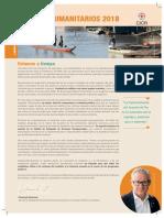 Retos Humanitarios 2018 Balance Cicr Colombia