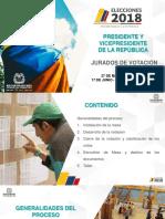 Capacitación Jurados Presidente 2018