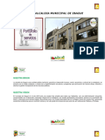 Portafolio de servicios alcaldía de Ibagué