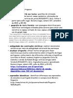 Idéias Lingua Portuguesa