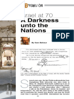 Israel at 70 a Darkness Unto the Nations