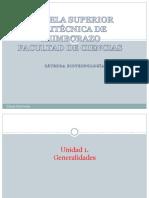 Biotecnología. Generalidades