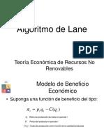 Algoritmo Lane