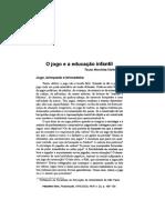 O jogo e a educação infantil Kishimoto.pdf