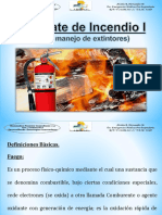 Combate de Incendio